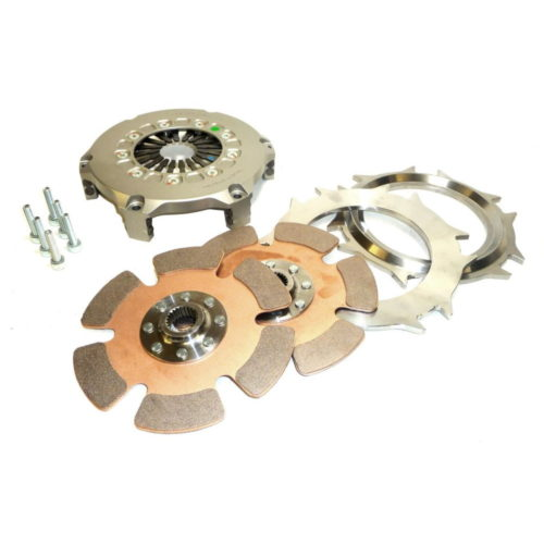 """Twin Plate Race Clutch 7.25"""" = 184mm (BC008-184TWIN)"""