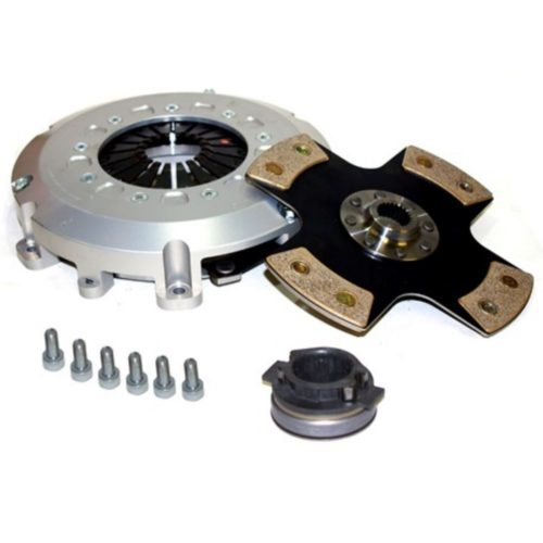 Heavy Duty Pinto Ceramic Paddle Clutch Kit + Pinto Release Bearing For Cable Clutch (BC008PAD)