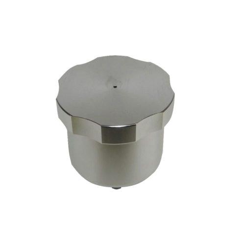 Aluminium Brake Reservoir 70mm Diameter 7/16Unf (Single Silver) (BC021S)