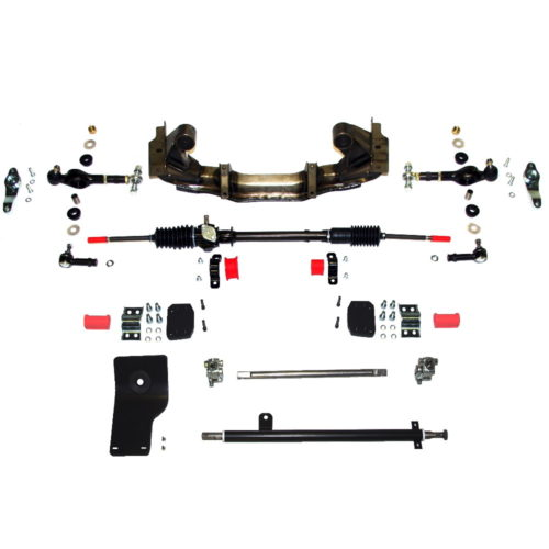 MK1 Cortina - Rack and Pinion - Full Kit LHD 2.4 Ratio ***LHD LHD LHD*** Airflow (CS022LHD)
