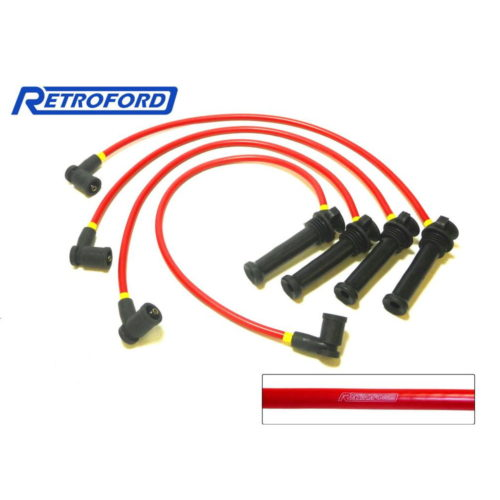 Duratec Motorsport Long Ignition Leads - Red (D028-RED)