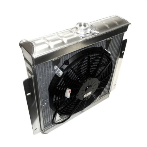 Duratec Alloy Radiator - Big Header Tank - With Fan (D033A-BHT)