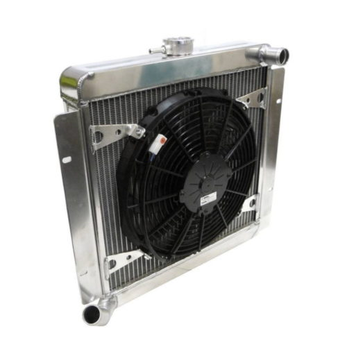 Duratec Alloy Radiator With Fan (D033A)
