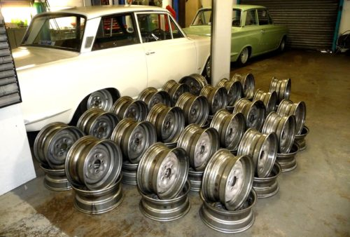 Lotus Cortina Wheel
