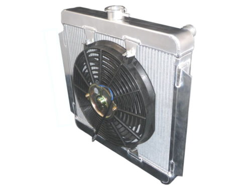 Zetec Alloy Radiator With Fan (Z012)