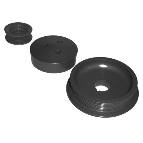 Zetec - Black Top / ST170 Lightweight Aluminium Pulley Kit (Z068)