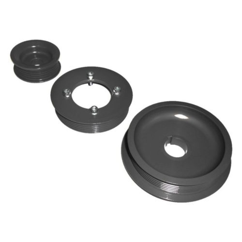 Zetec - Silver Top Lightweight Aluminium Pulley Kit (Z069)