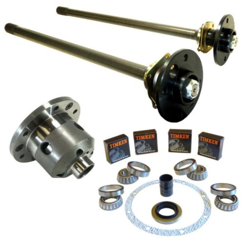 MK1 Cortina - Ultimate Heavy Duty English Axle Upgrade Kit with Half Shafts, LSD and Diff Rebuild Kit (CS044-KIT-DRK)