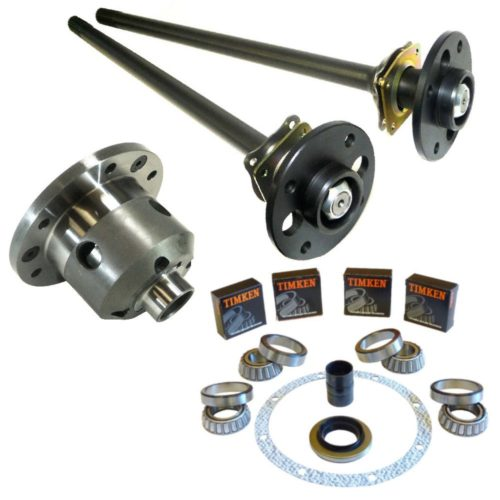MK2 Cortina - Ultimate Heavy Duty English Axle Upgrade Kit with Half Shafts, LSD and Diff Rebuild Kit (DRT032-KIT-DRK)