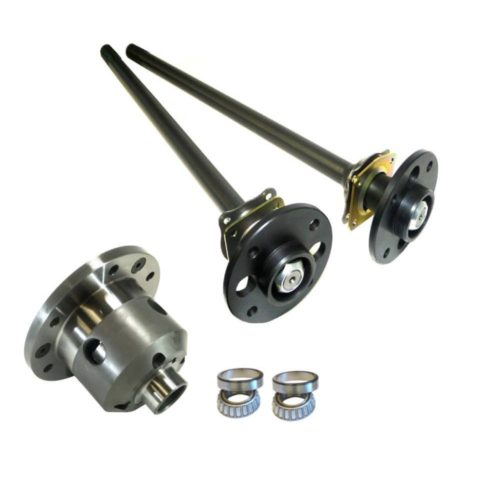 Ultimate Heavy Duty English Axle Upgrade Kit with Half Shafts, LSD and Side Bearing Kit (DRT032-KIT-SBK)