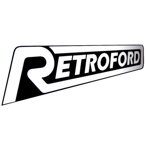 Retroford Logo Sticker (ME008)