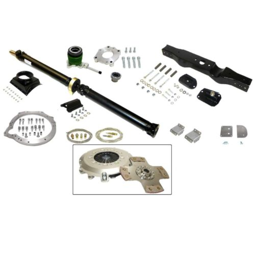 MK1 Cortina - Ford Zetec To Mazda Gearbox Install Kit (Paddle Clutch) (MX5-015)