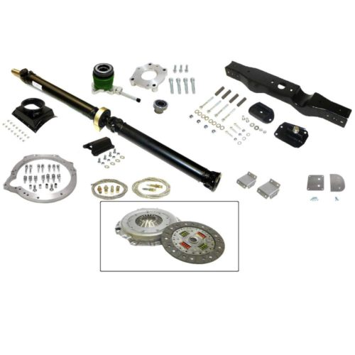 MK1 Cortina - Ford Zetec To Mazda Gearbox Install Kit (Organic Clutch) (MX5-016)