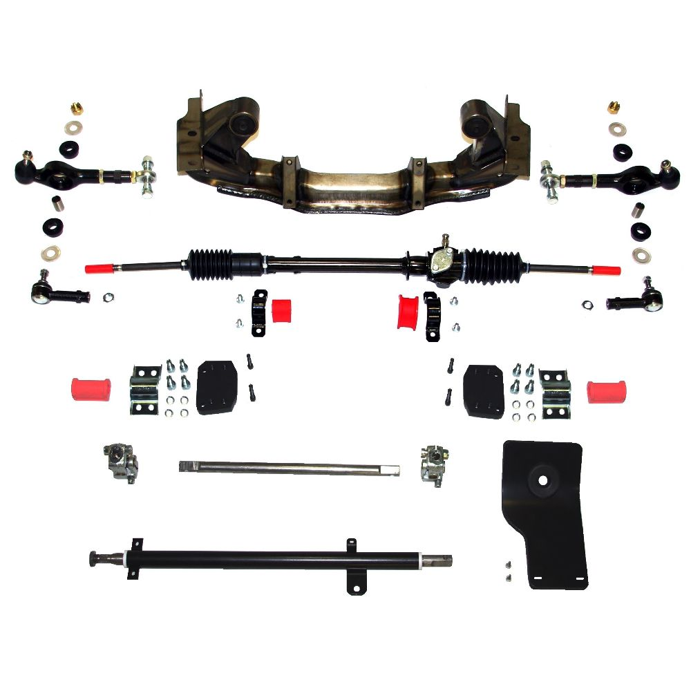 MK2 Cortina - Rack And Pinion - Steering Kit - ***LHD*** 2.4 Ratio - (SS017-LHD)