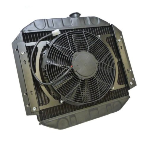 Zetec Copper Radiator With Fan (Z010-WF)