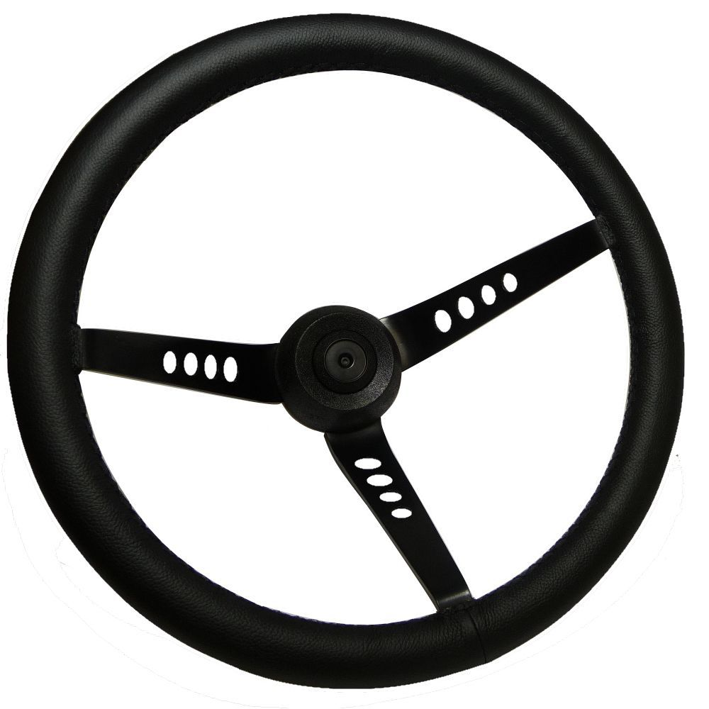 AVO Style Steering Wheel - Leather (SS029-LE)