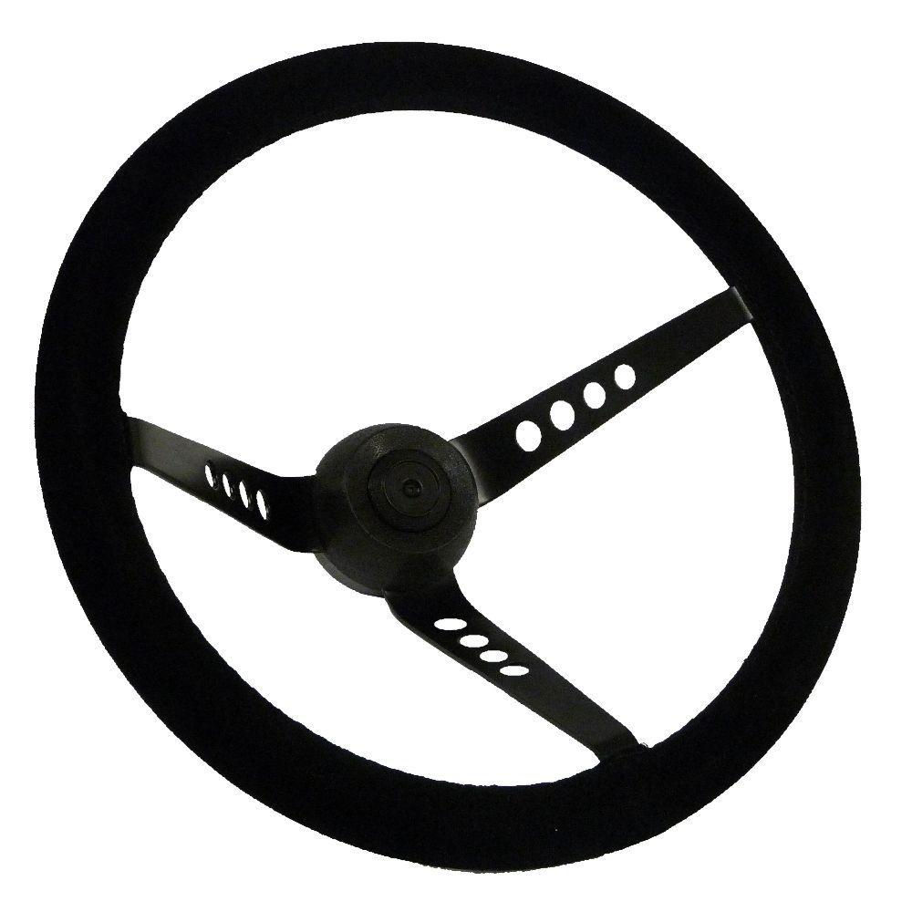 AVO Style Steering Wheel - Suede (SS029-SU)