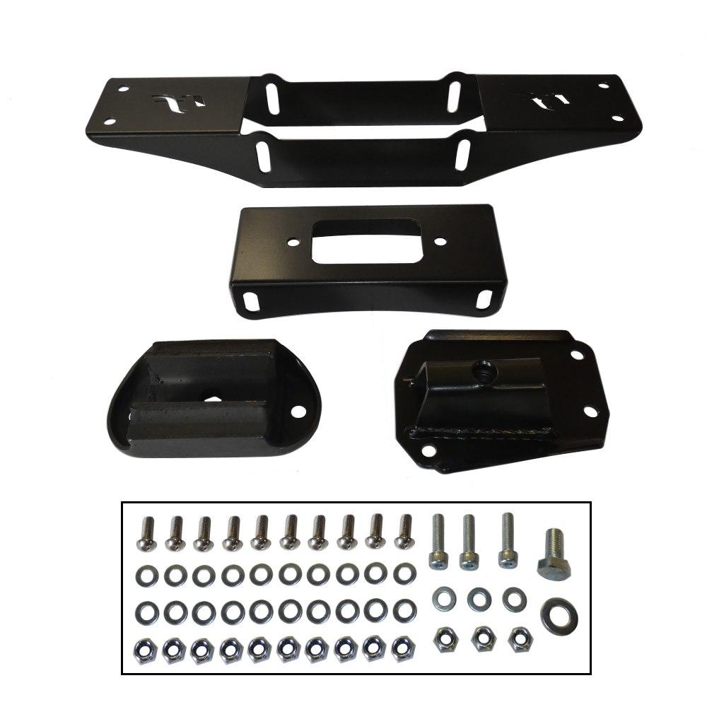 MK1/2 Escort - Ford Zetec To Mazda Gearbox Crossmember Kit (MX5-022)