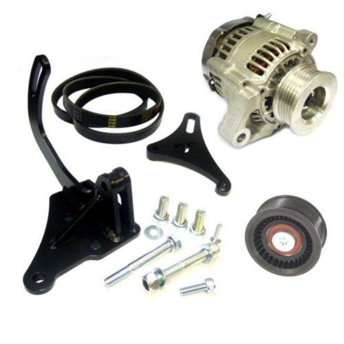 Zetec Motorsport Alternator Kit - Black Top/ST170 (Z100MS)