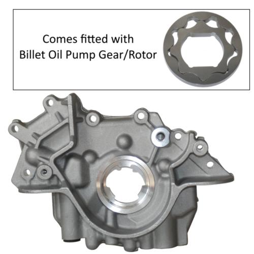 Zetec Blacktop/ST170 STD Oil Pump With Billet Oil Pump Rotor (Z123)